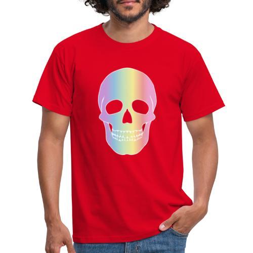Rainbow Skull - Miesten t-paita