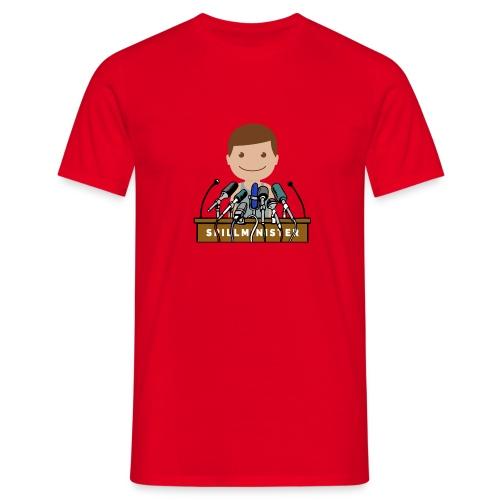 Spillminister logoen - T-skjorte for menn
