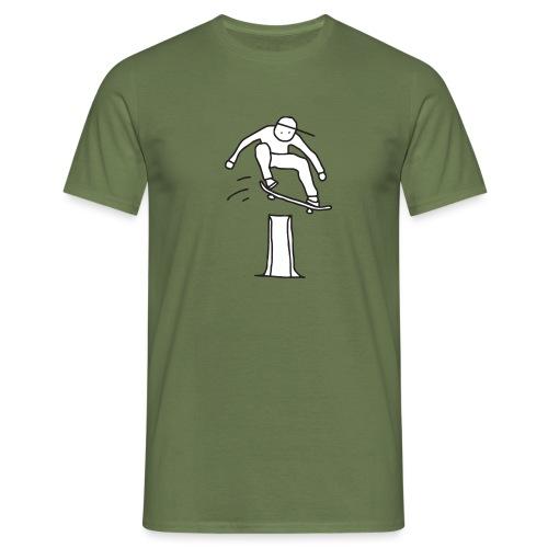 High Ollie Character - Mannen T-shirt