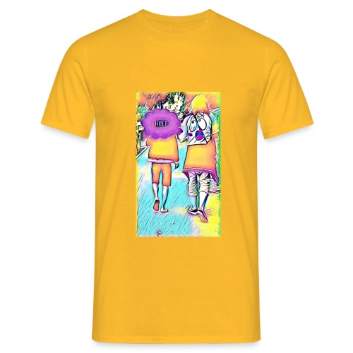 T-shirt wants To escape - T-shirt Homme