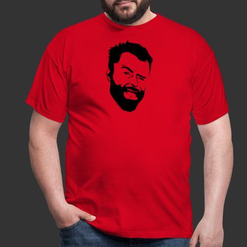 Baerenlust meets den echten Kerl mit Vollbart - Männer T-Shirt