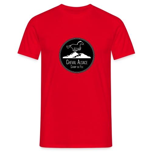 cheval alsace noir - T-shirt Homme