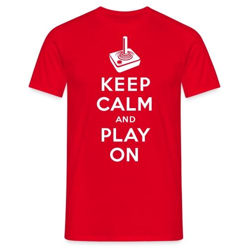 KeepCalm-Atari - Männer T-Shirt