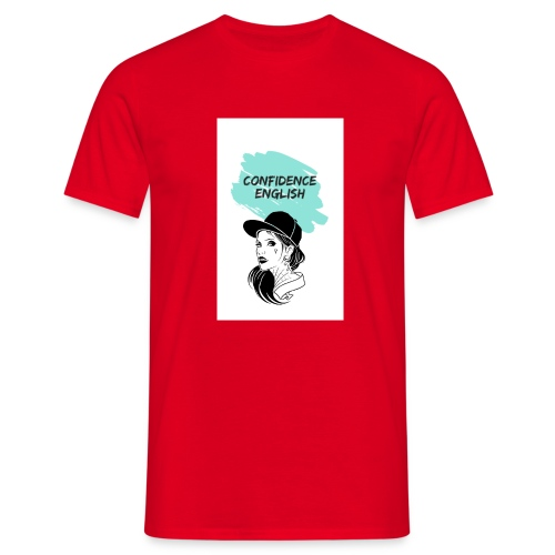 SUDADERAS CONFIDENCE ENGLISH - Camiseta hombre