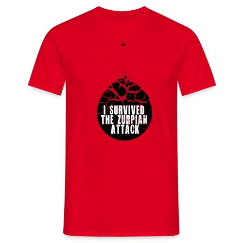 zurpianattackv02exp1 - T-shirt Homme