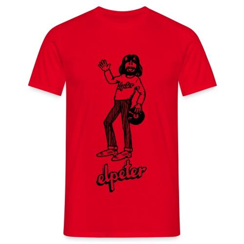 Elpeter Tekst Logo 1 - Mannen T-shirt