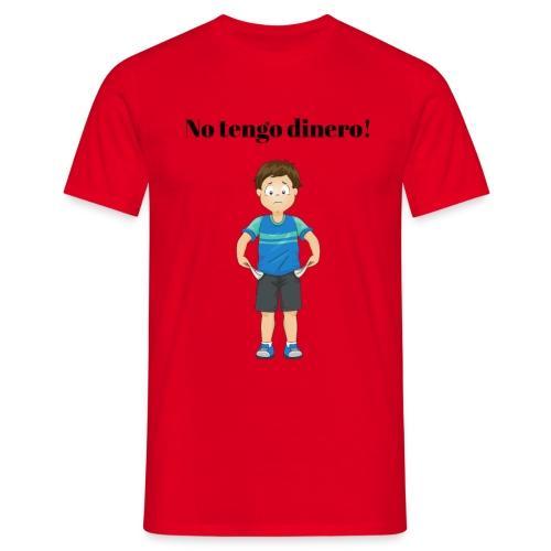 NO TENGO DINERO - T-shirt herr