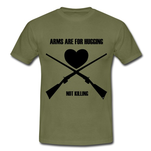Arms are for hugging - Herre-T-shirt