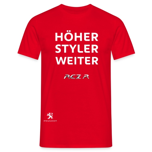 RCZ R - Männer T-Shirt