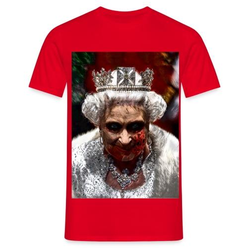God fuck the quen mo2 - T-shirt Homme