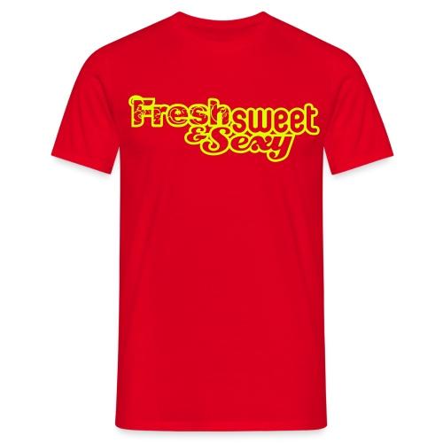 v2 guy csp logo 2 - Men's T-Shirt