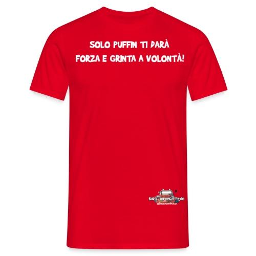 Solo Puffin ti darà - Maglietta da uomo