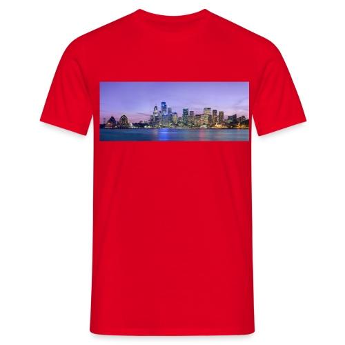 Sydney skyline - Männer T-Shirt