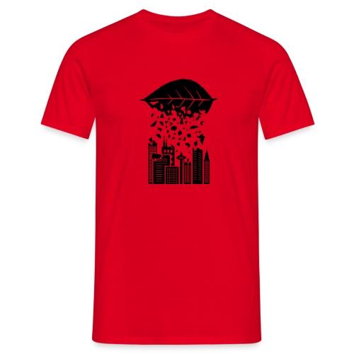 Leaves Metropole - Männer T-Shirt
