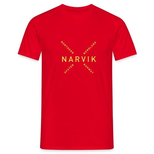 Narvik - Northern Norway - T-skjorte for menn