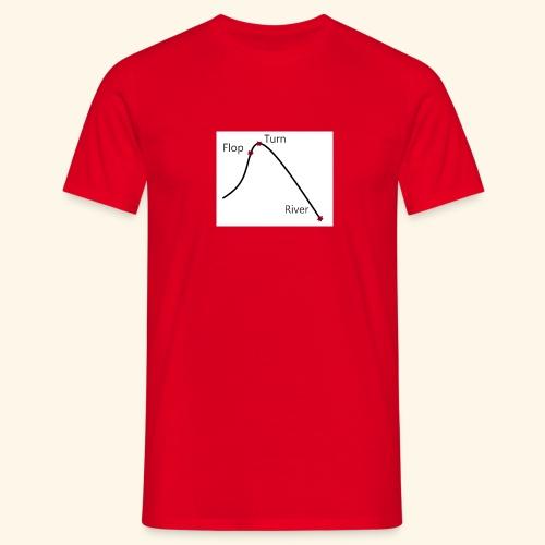 Poker Life - Männer T-Shirt