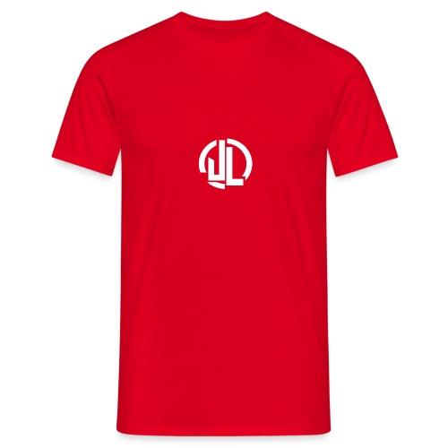 The White JL Logo - Men's T-Shirt