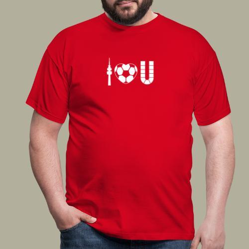 Dortmund I Love U - Männer T-Shirt