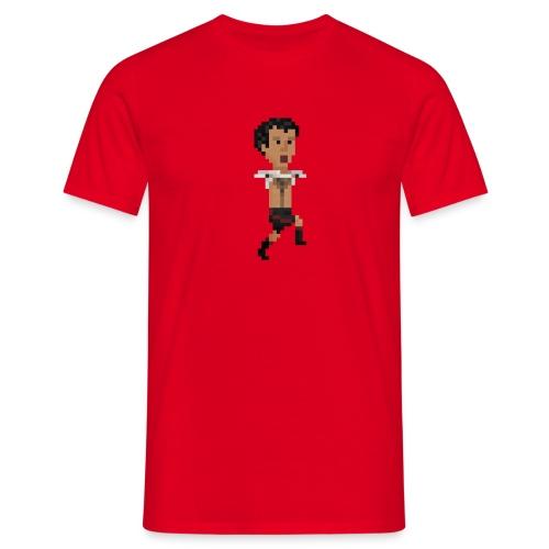 Hairy chest celebration - Men's T-Shirt