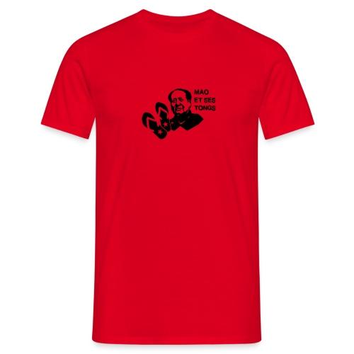 MAO et ses tongs - T-shirt Homme