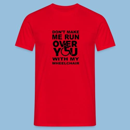 Runover1 - Mannen T-shirt