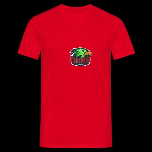 Sektion9 Logo Grün - Männer T-Shirt