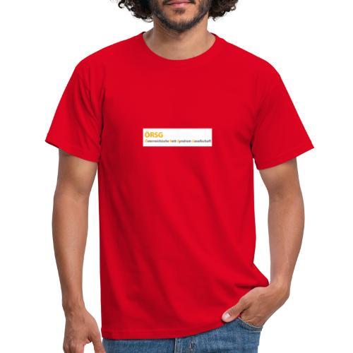 Text-Logo der ÖRSG - Rett Syndrom Österreich - Männer T-Shirt