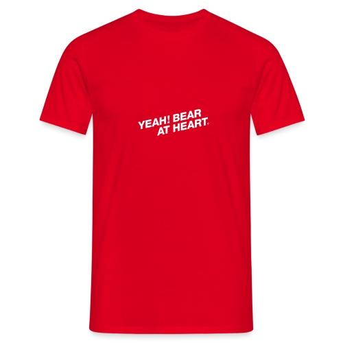 Yeah Bear at Heart #2 - Männer T-Shirt