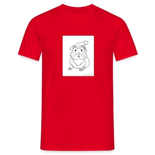 Hamster petite souris blanche guinea - T-shirt Homme