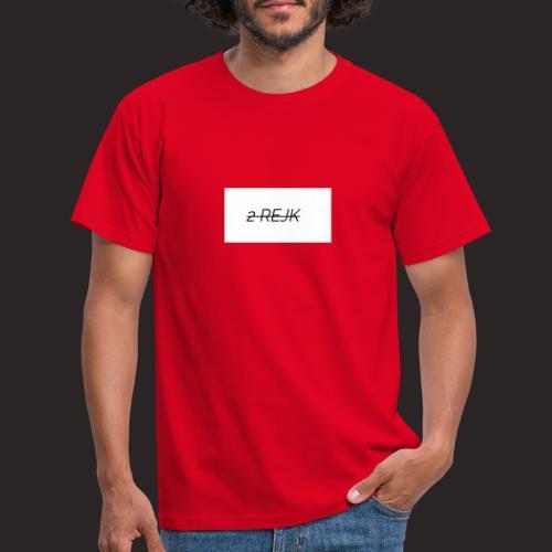2 rejk valkoinen - Miesten t-paita