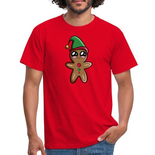 Bonhomme de Pain d'épices Kawaii - T-shirt Homme