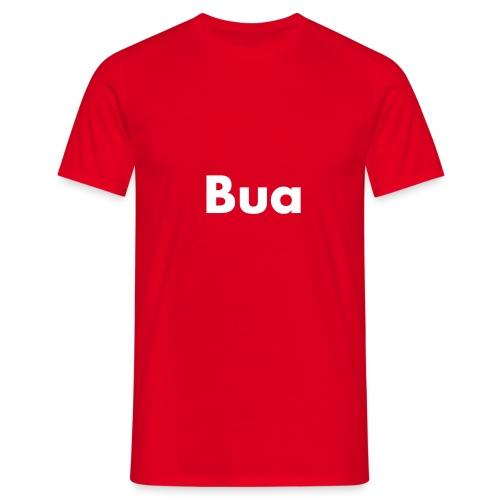 bua schwarz - Männer T-Shirt