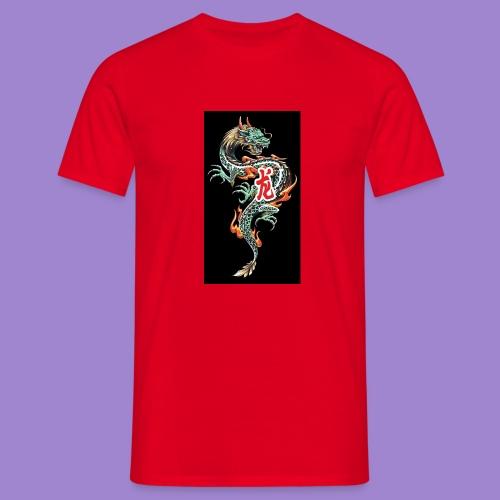 Dragon fire - T-shirt Homme