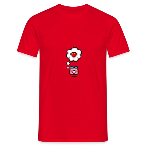 Love Toughts – Girl - Männer T-Shirt