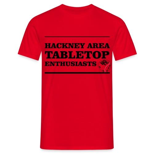 SPELLING IT OUT BLACK - Men's T-Shirt