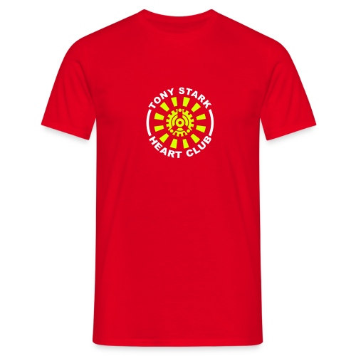 Tony Stark Heart Club - T-shirt Homme