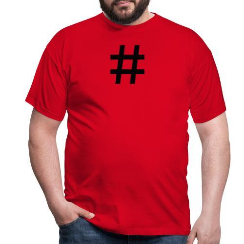 gym - T-skjorte for menn
