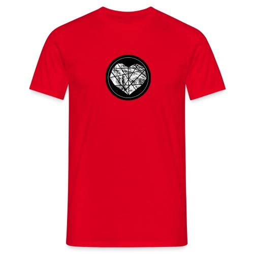 Logo Herzenszeit Neu - Männer T-Shirt