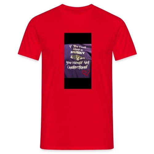Husky - T-skjorte for menn