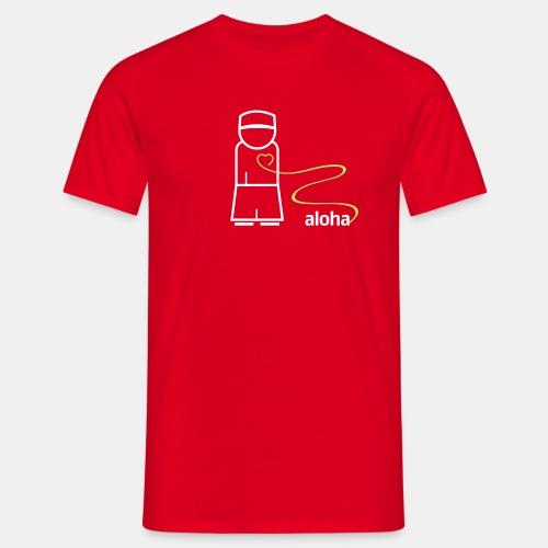 aloha logo cs2 - Männer T-Shirt