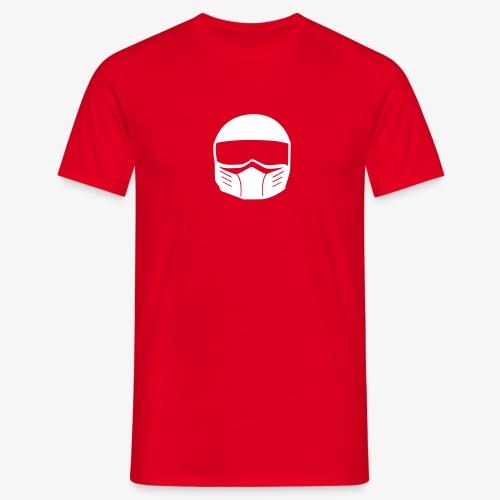 Fighter Helm - Männer T-Shirt