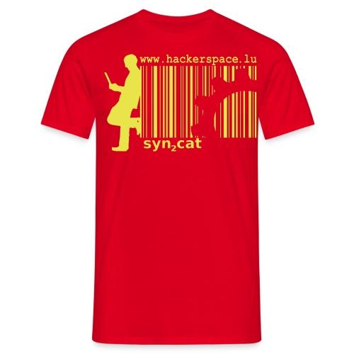 syn2cat hackerspace - Men's T-Shirt