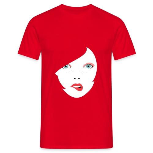Red Lips - Männer T-Shirt