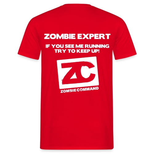 Zombie Expert - Men's T-Shirt