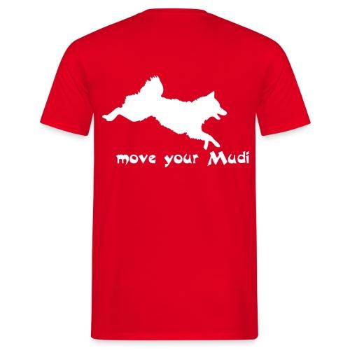 moyomu white - Men's T-Shirt