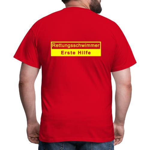 Rettungsschwimmer & Erste Hilfe - Männer T-Shirt