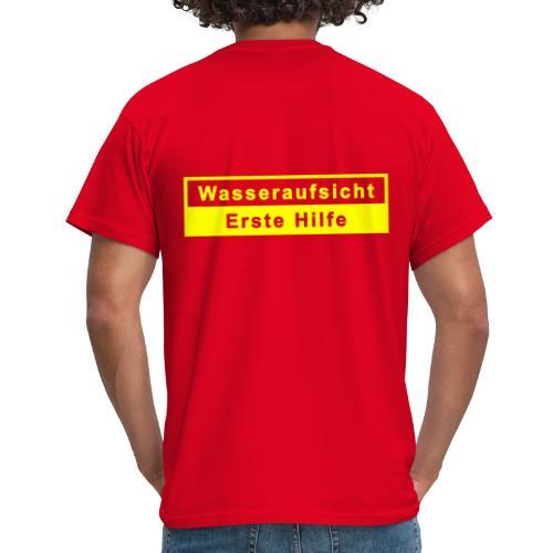Wasseraufsicht & Erste Hilfe - Männer T-Shirt