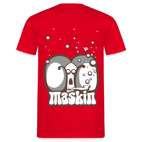 Maskin pipe - T-shirt herr