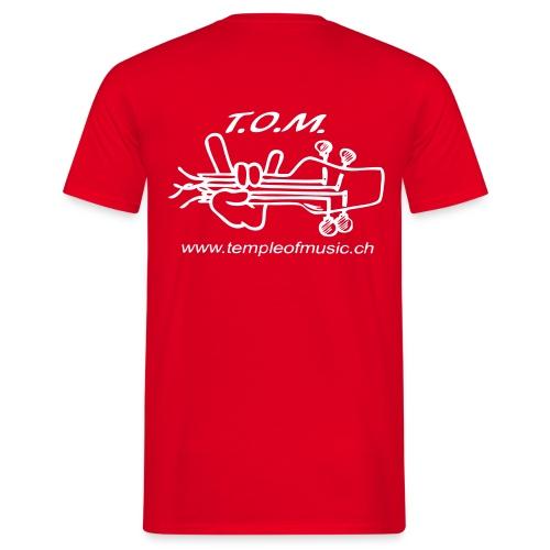 T O M Logo - Männer T-Shirt