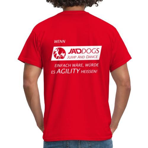 JAD DOGS vs. Agility - Männer T-Shirt